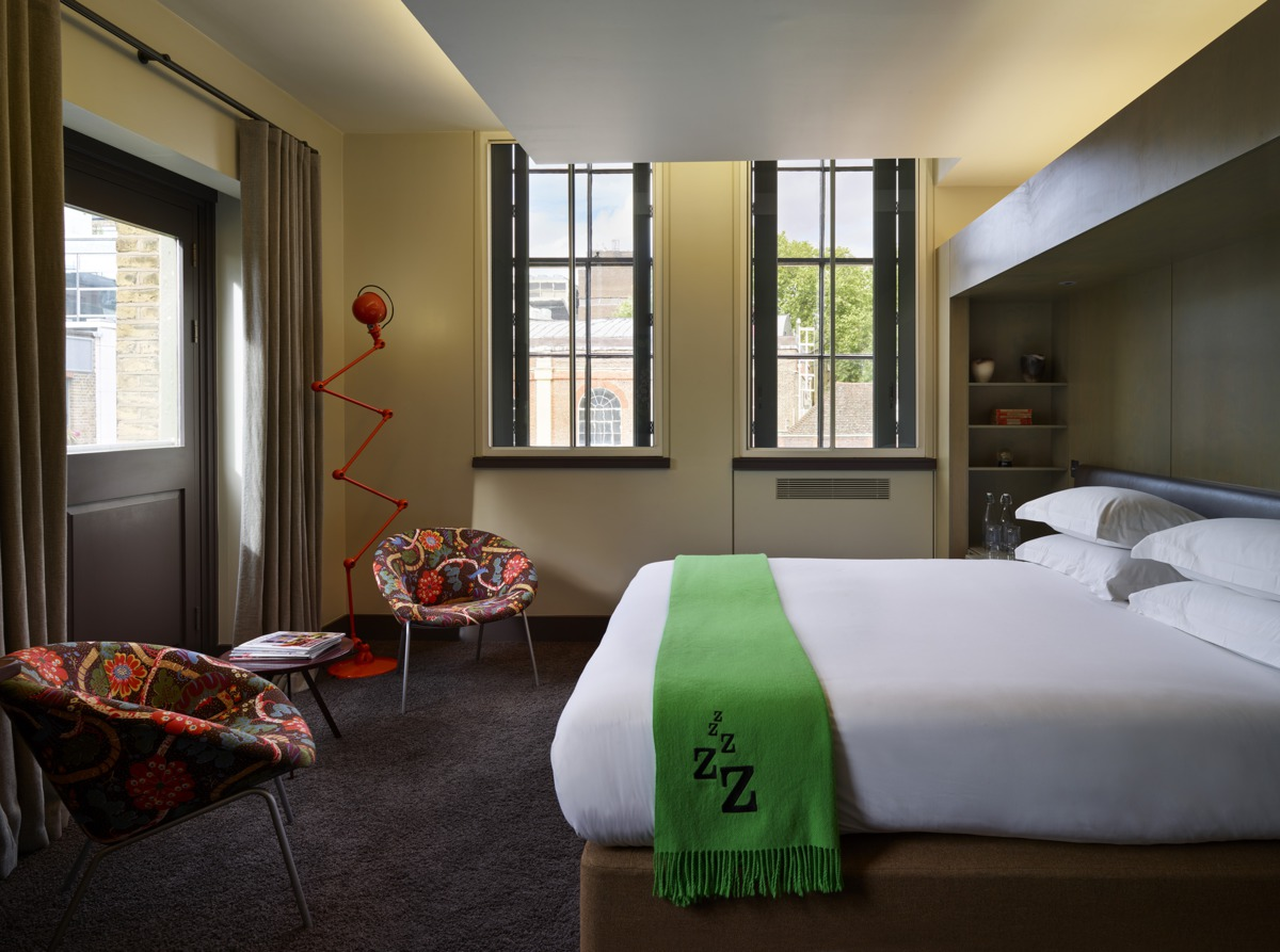 Boutique London hotel: The Zetter Hotel