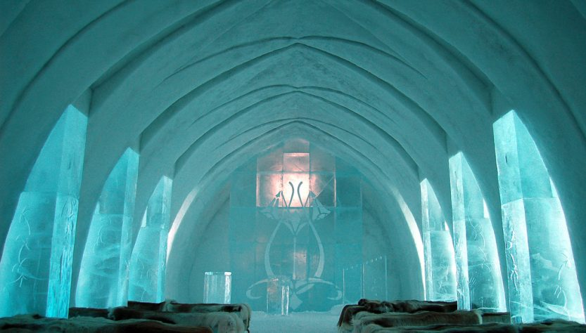 Ice Hotel Church @ Jukkasjärvi, FInland