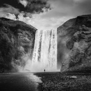 12-17 winner: Lee Deutsch, 17. Skogafoss Waterfall, Iceland