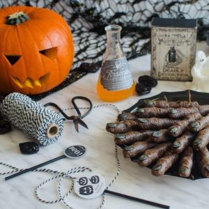 Vegan Halloween Recipe: Raw Witches Fingers