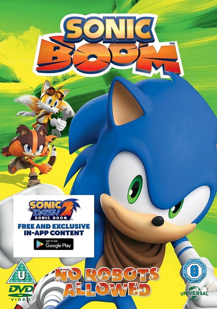Sonic Boom – No Robots Allowed: Children's TV Review