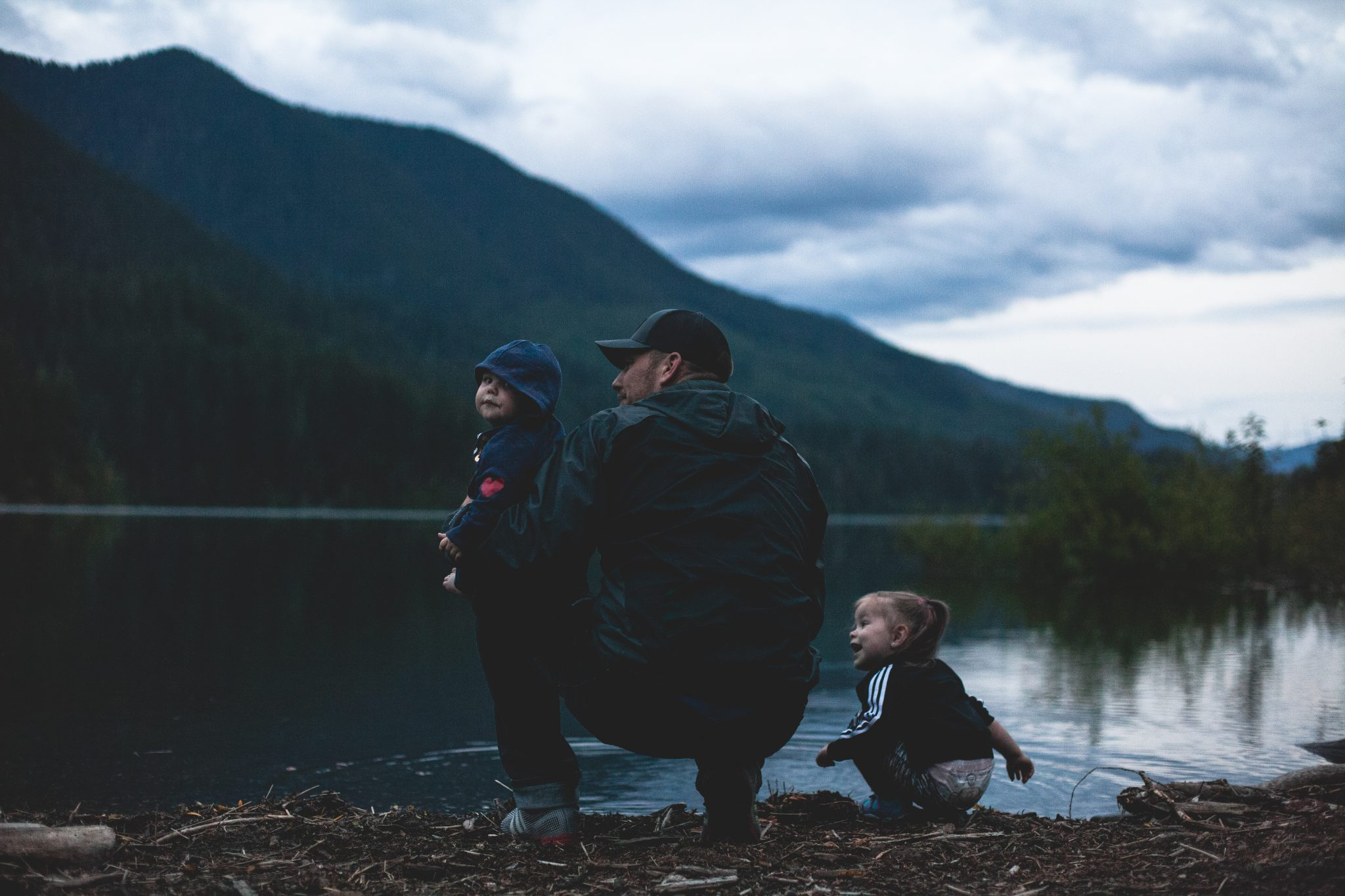 The understated affection of fathers