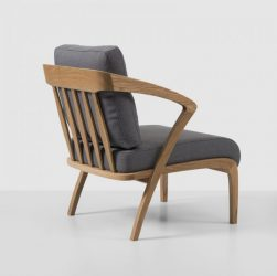 POLY Armchair in Oak from Hermonides