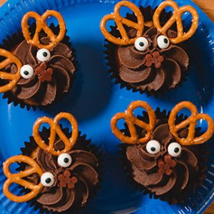 Christmas Recipe Ideas: Reindeer Cakes