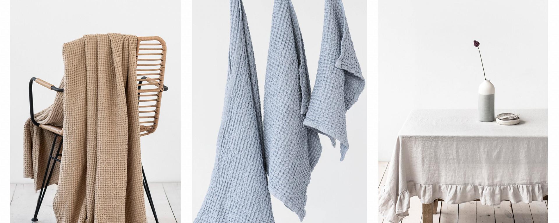 Linen tablecloths from MagicLinen