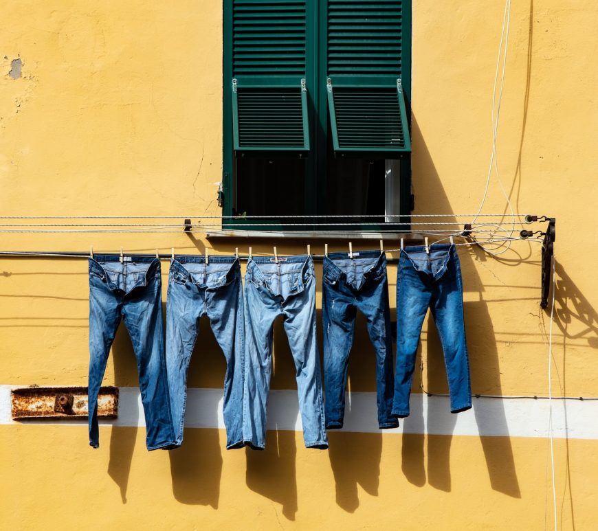 Can you put jeans in the tumble dryer?